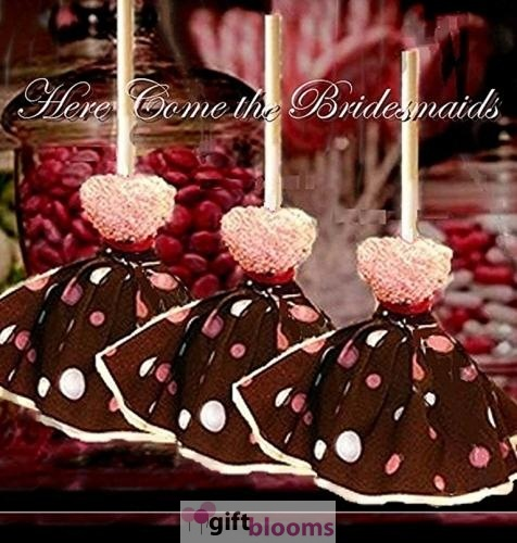 Chocolate Brownie Pink And Brown Bridesmaids 8 Pie